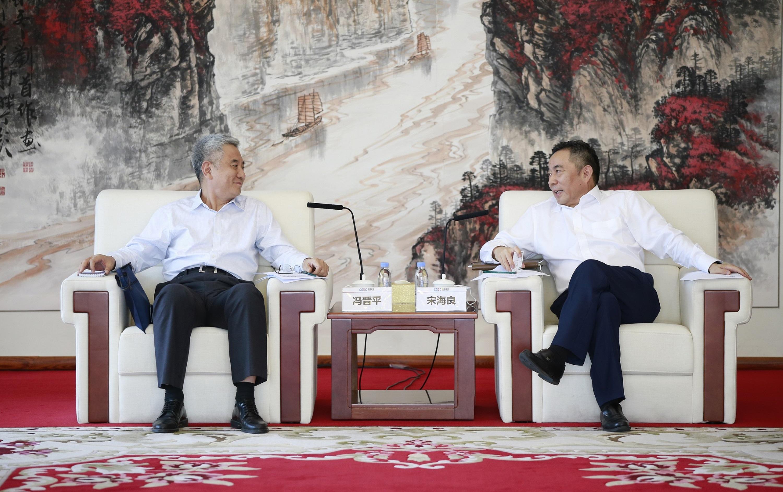 中国能建与中国PPP基金签署战略合作框架协议