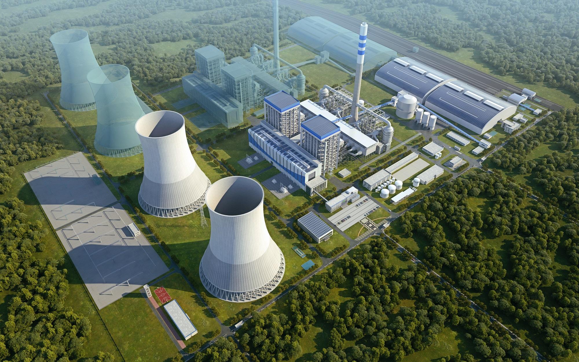 40.95亿,中国能建中南院签订襄阳(宜城)2台100万千瓦超超临界燃煤机组EPC合同